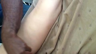 Wife getting great massage