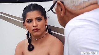 Gabriela Lopez - Family Rv Trip Spiced Up By Nasty Stepsister!