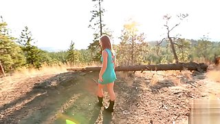 Mountain Top Fun with Step Sister Tiny Tiffany