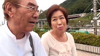 Asian grandmom Ishikawa Mitsue gets fucked hard