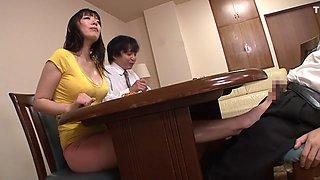 Nao Mizuki in Attracted To Stepmoms Sweaty Chest part 4