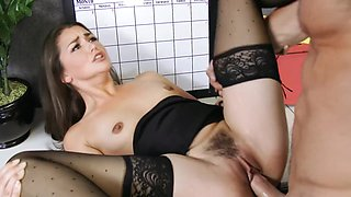Allie Haze secretary Creampie PMV