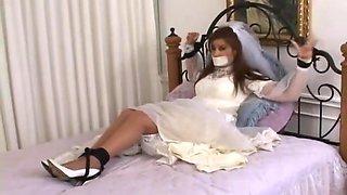 Bride in bondage