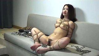 Chinese Model 小齐齐 XiaoQiQi - Bondage Shoot BTS 04