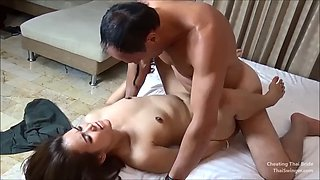 Cheating thai bride creampied during wedding with the best man