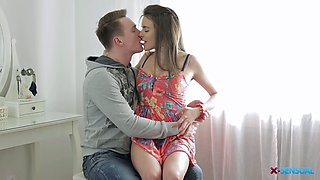 Lovely romantic GF Silvia Jons gets her Russian holes stretched well