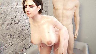 Jill Valentine - Jill's Butt Bath