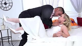 Newly Wed Bride Gets Anal Fucked