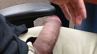 Cock out at work.