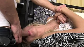 Sugary blonde barely legal honey Lenora Wright fucked in vag