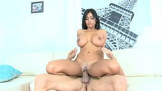 Indian girl Priya Rai rammed hard by his exceptionally big cock