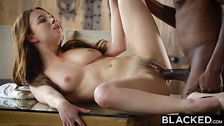 BLACKED Hot Model Taylor Sands Takes BBC