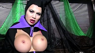 The gorgeous Jasmine Jae is the Mistress of all evil,
