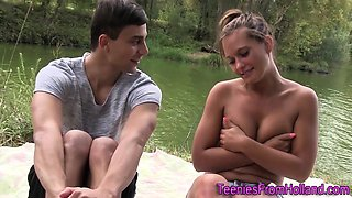 European teen sperm soak