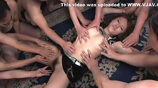 Hikari Tsukino Uncensored Hardcore Video with Gangbang, Bukkake scenes