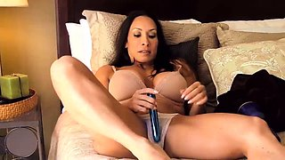 Hot Mom Plays With Her Big Clit