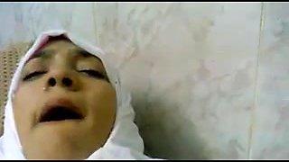 Egyptian nurse in hospital with Khaled
