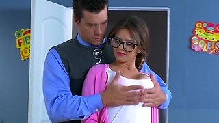 Brazzers - Big Tits at School - Alice Lighthouse Ramon - Fro