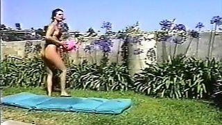 Ashlyn Gere Takes On 4 Cocks In Thong Bikini