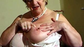 Beautiful BBW Granny Vid