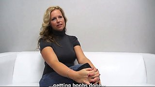 Real Amateur MILF fucked fingered orgasms takes cumshot