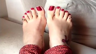 Brazilian Size 7.5 Toes/Foot Compilation