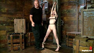 Penny Pax & Mark Davis in Innocent Penny Pax Faced Fucked By Mark Davis In Extreme Bondage - HogTied