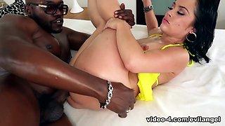 Kristina Rose & Moe The Monster Johnson & Jonni Darkko in Monster BBC Sodomizes Petite Latina - EvilAngel