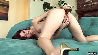 Karlie Montana Strips And Masturbates