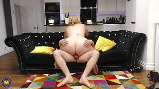 Young Guy Fucking His Big Breasted Mature Ho With Katie Kay